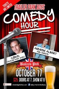 baileys comedy show