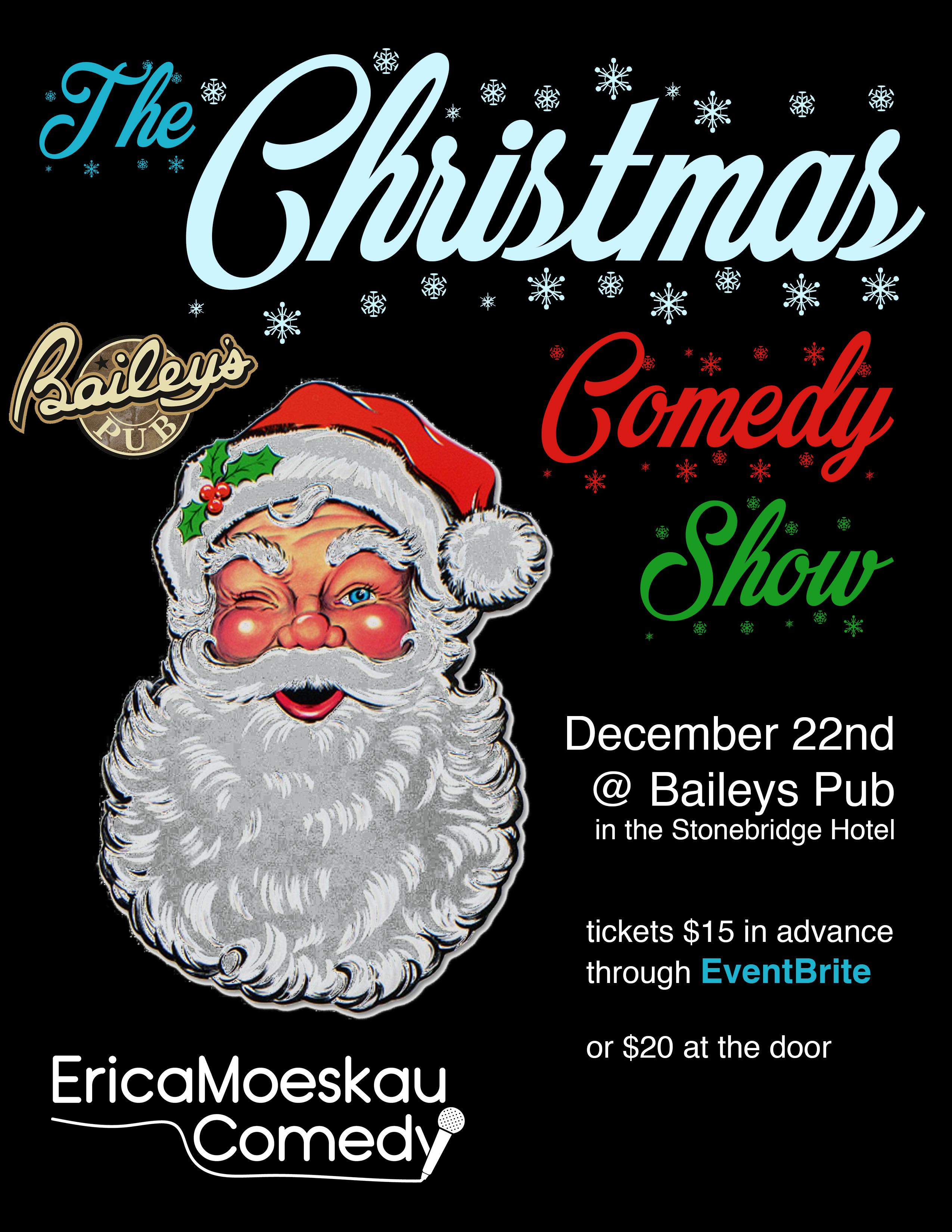 Christmas Comedy Poster