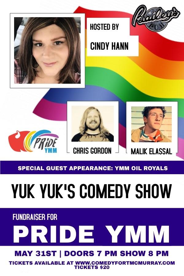 Pride Comedy Fundraiser